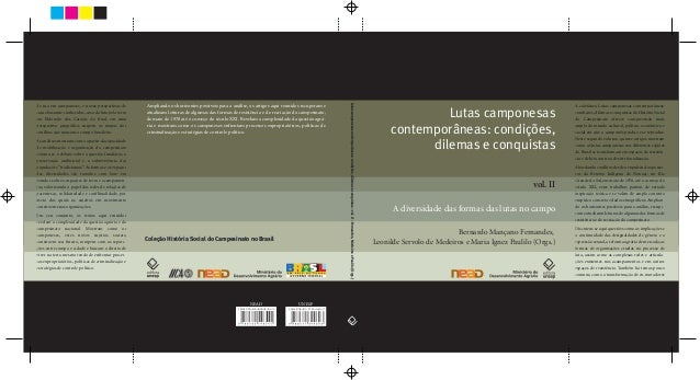Lutas camponesas contemporâneas: condições, dilemas e conquistas – volume 2