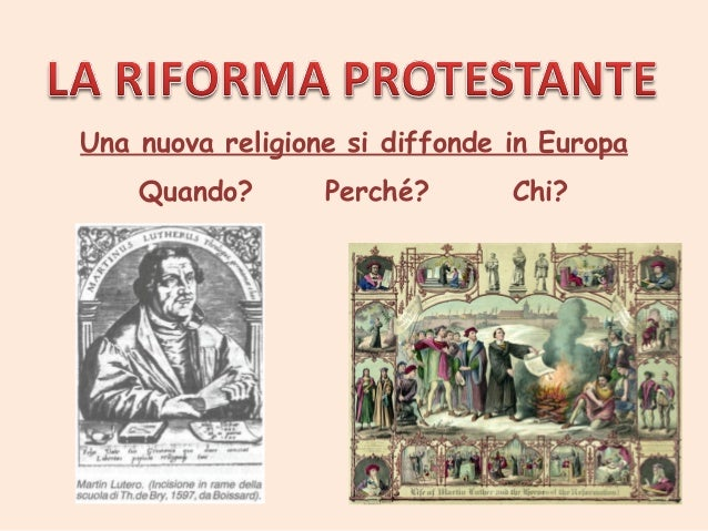 Una nuova religione si diffonde in Europa Quando?  Perché?  Chi?
