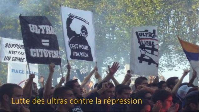 Lutte des ultras contre la répression