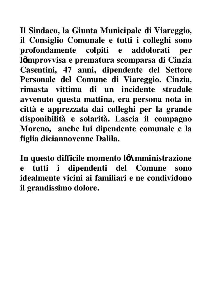 CINZIA CASENTINI
