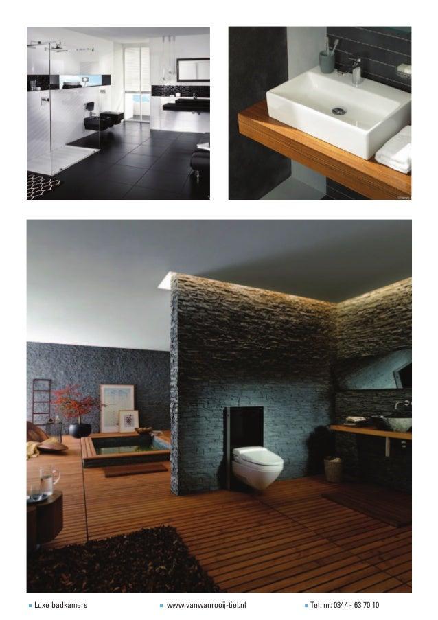 Muurverf Voor Badkamer ~ Voorbeelden van luxe badkamers