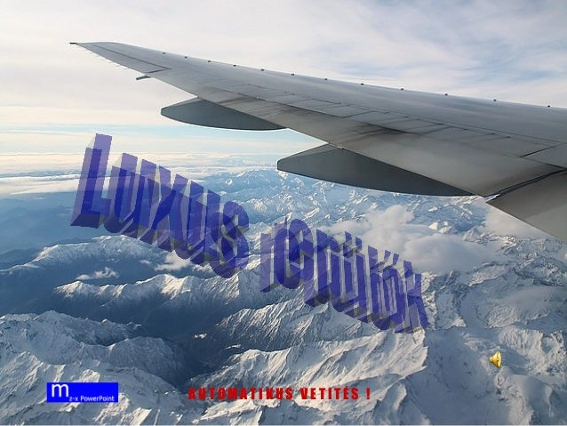 Lux onboard planes