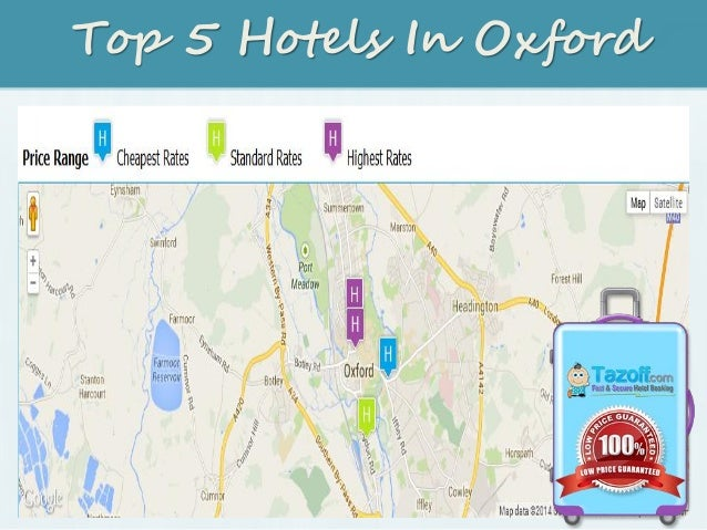 Top 5 Hotels In Oxford