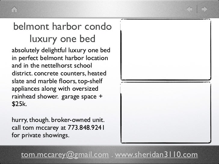 belmont harbor condo   luxury one bedabsolutely delightful luxury one bedin perfect belmont harbor locationand in the nett...