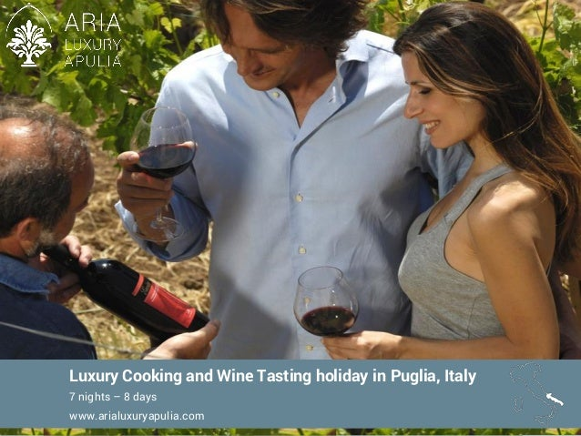 Luxury cooking and wine tasting holiday in puglia   7 nights and 8 days