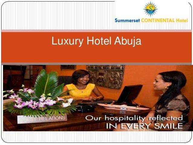 Luxury Hotel Abuja