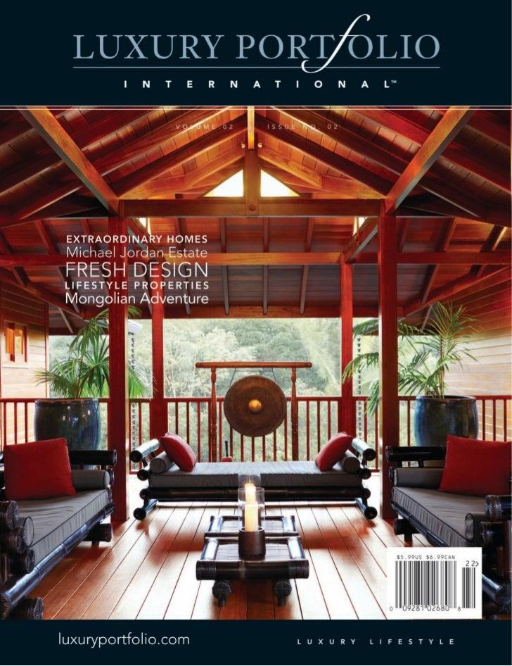 Luxury Portfolio Magazine June