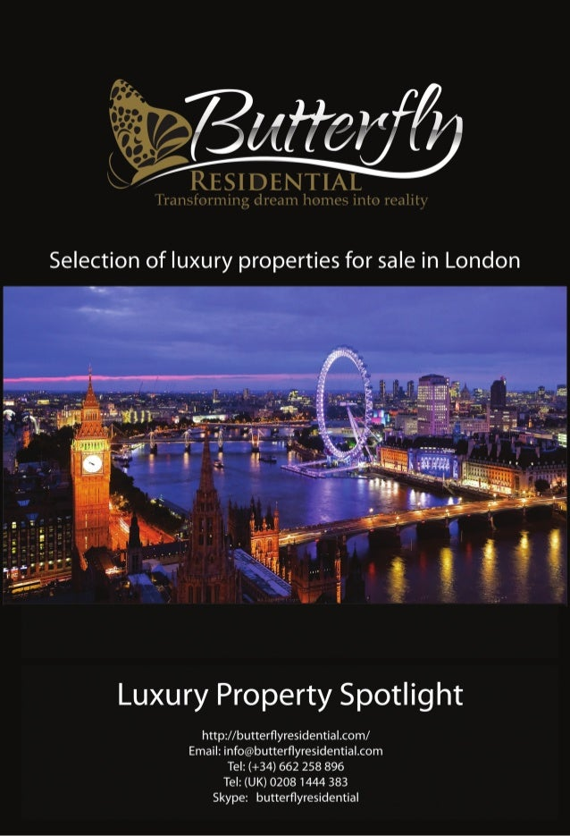 Luxury property for sale in london