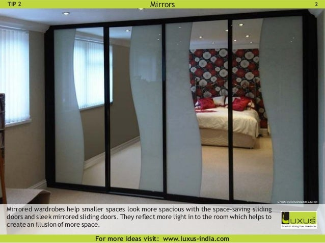 Luxus Bedroom Sliding Wardrobe Design Ideas