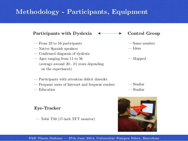 Dyslexia Masters Thesis Statement - Writing a Dissertation about Dyslexia Thesis Research