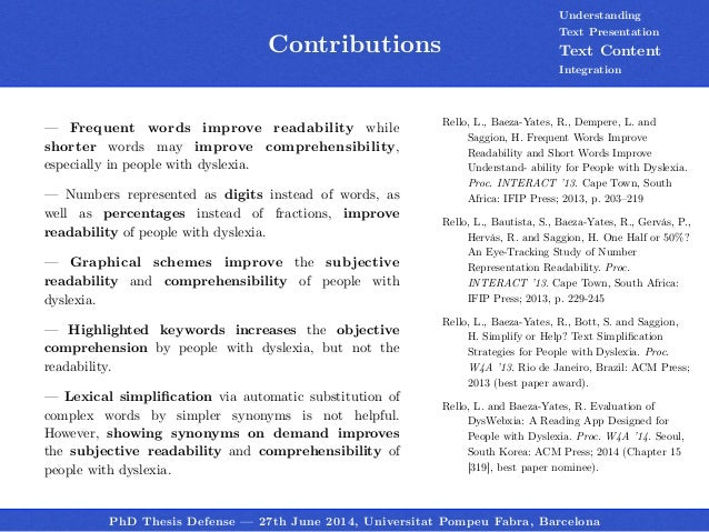 MBA Dissertation on the Effects of First and Third Generations of NLP ...