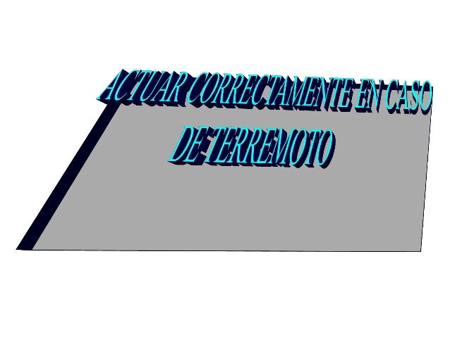 ÁLVARO. TERREMOTOS