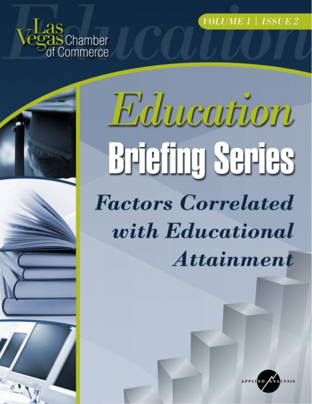 Las Vegas Chamber of Commerce Education Briefing Series