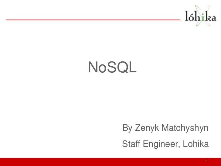 Lviv EDGE 2 - NoSQL