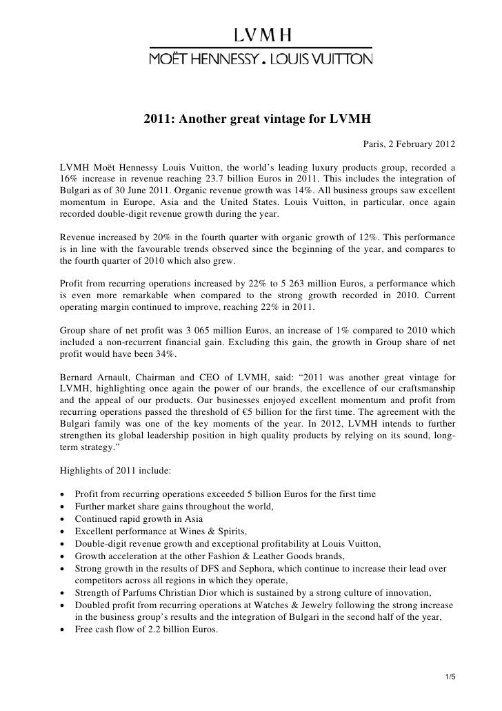 Lvmh2011 annualresults