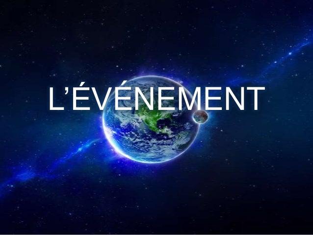 L'ÉVÉNEMENT