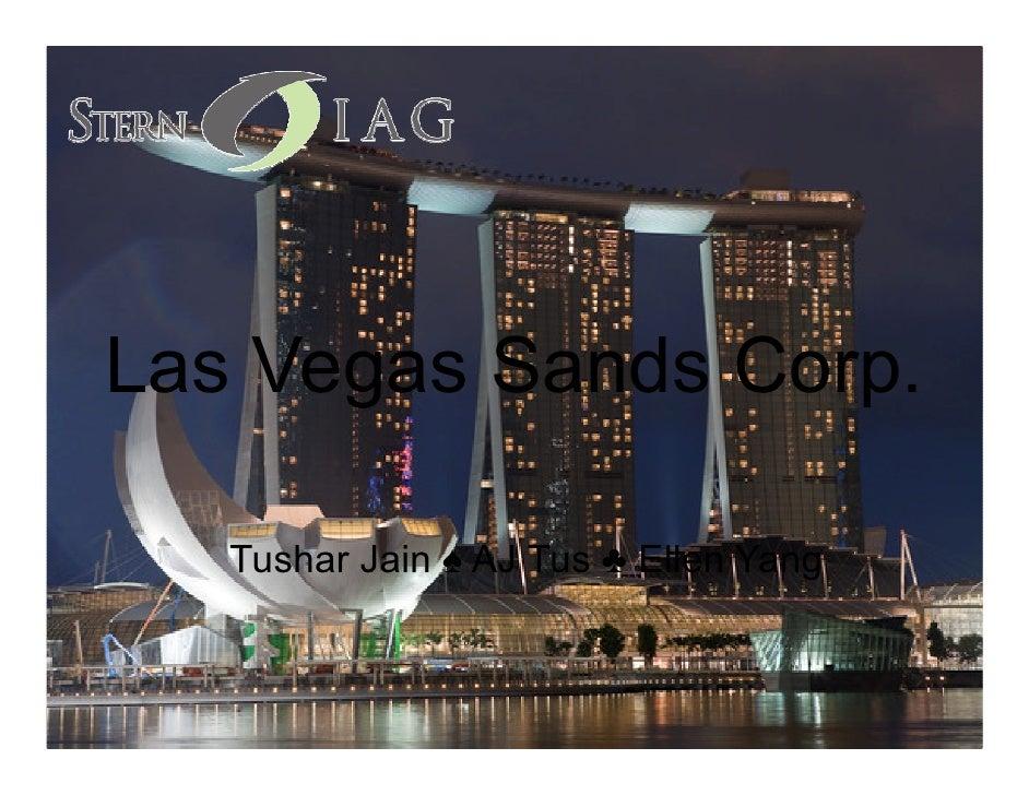 Las Vegas Sands 9-16-11