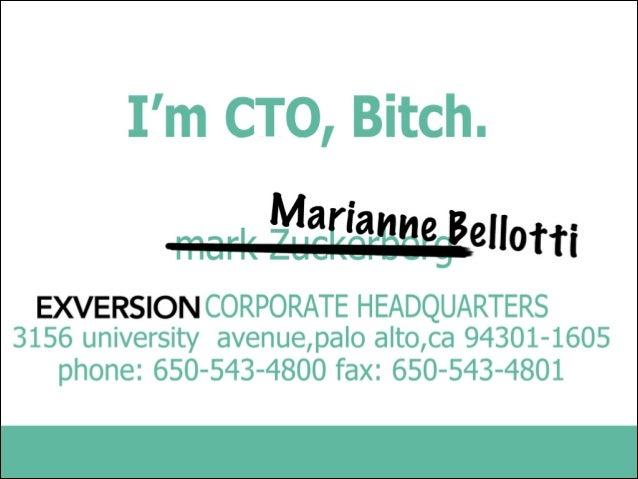 I'm a CTO