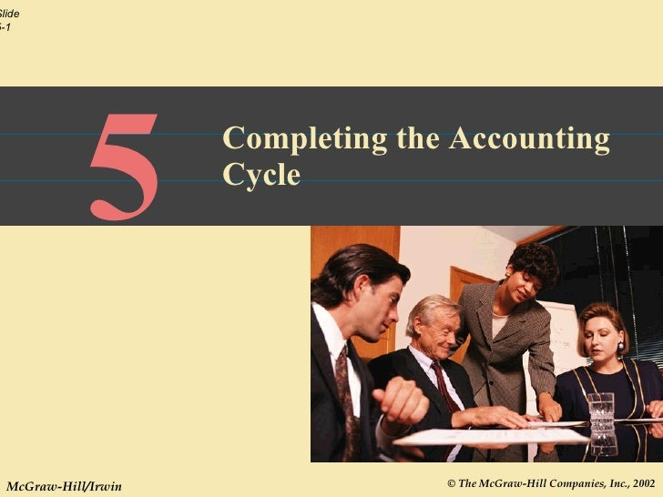 5 Completing the Accounting Cycle