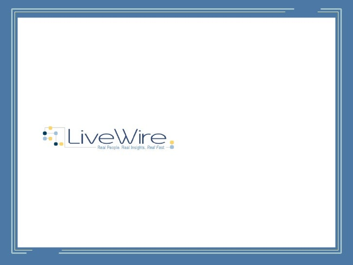 Table of Contents         About LiveWire         The LiveWire Panel         When to Use LiveWire         Service Offer...