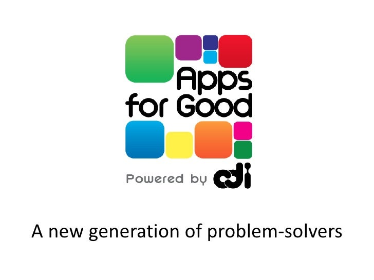 LWF11 Presentation about Apps for Good