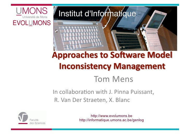 Approaches to software model inconsistency management