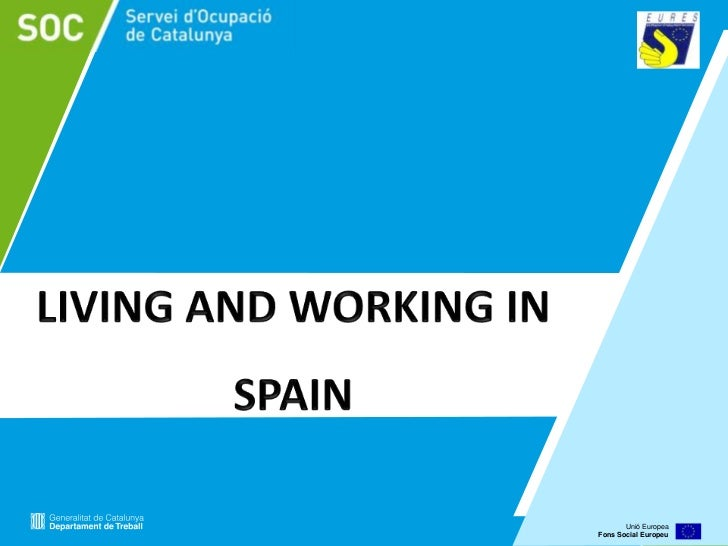 working in spain: