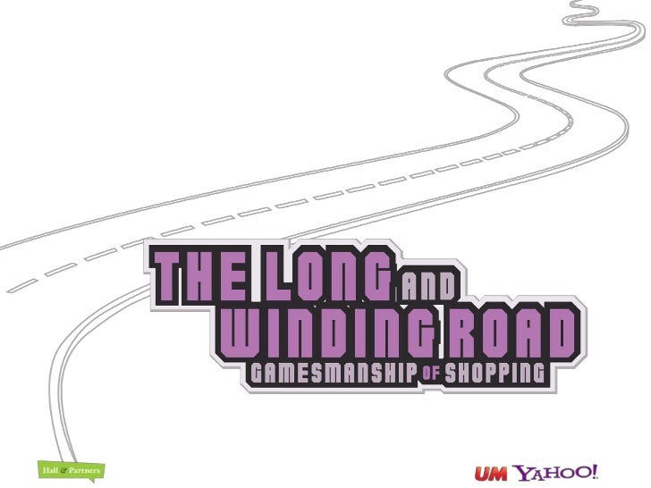 Long and Winding Road - Gamesmanship of Shopping Study