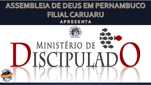 Discipulado ciclo básico ieadp   aula 02 - caruaru- 2014 part.02