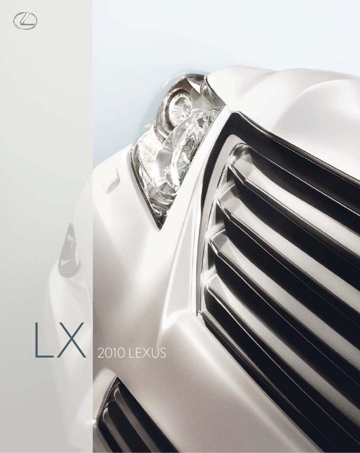 LX   2010 LEXUS