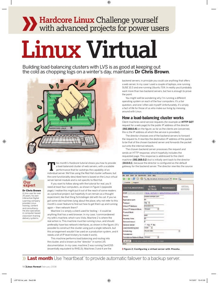 LXF #102 - Linux Virtual Server