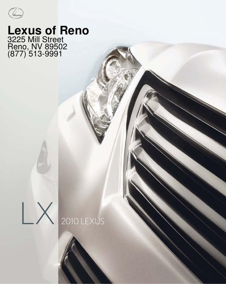 2010 Lexus LX Reno NV – Lexus of Reno