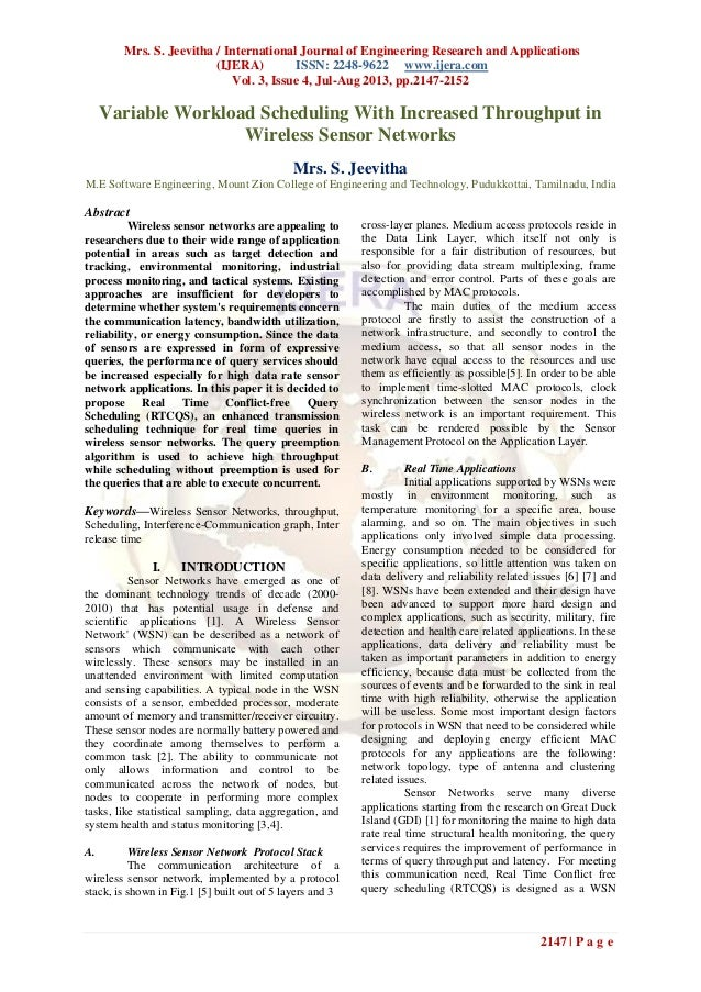 Mrs. S. Jeevitha / International Journal of Engineering Research and Applications (IJERA) ISSN: 2248-9622 www.ijera.com Vo...