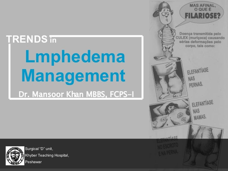 Trends in the management of Lymphedema