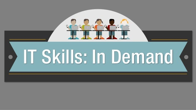 IT Skills That Employers Are Looking For In 2014
