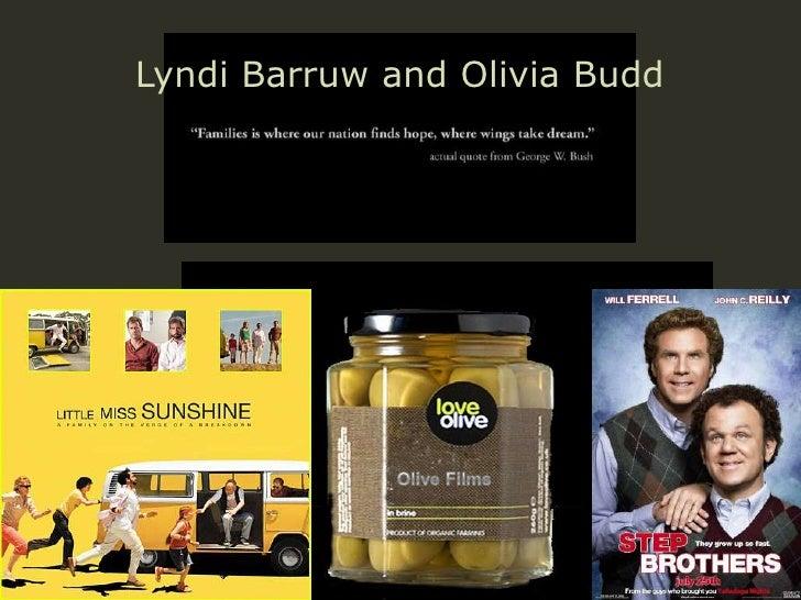 Lyndi and olivias presentation