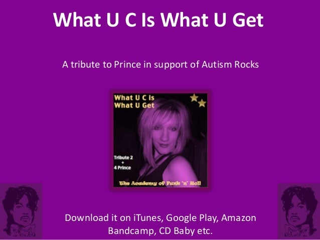 A song for Prince - in support of Autism Rocks