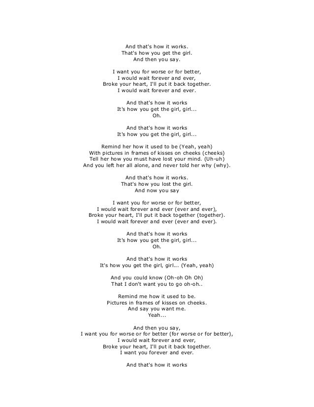 How long must i wait for you lyrics
