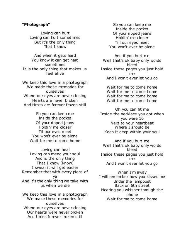 Love Letters Lyrics