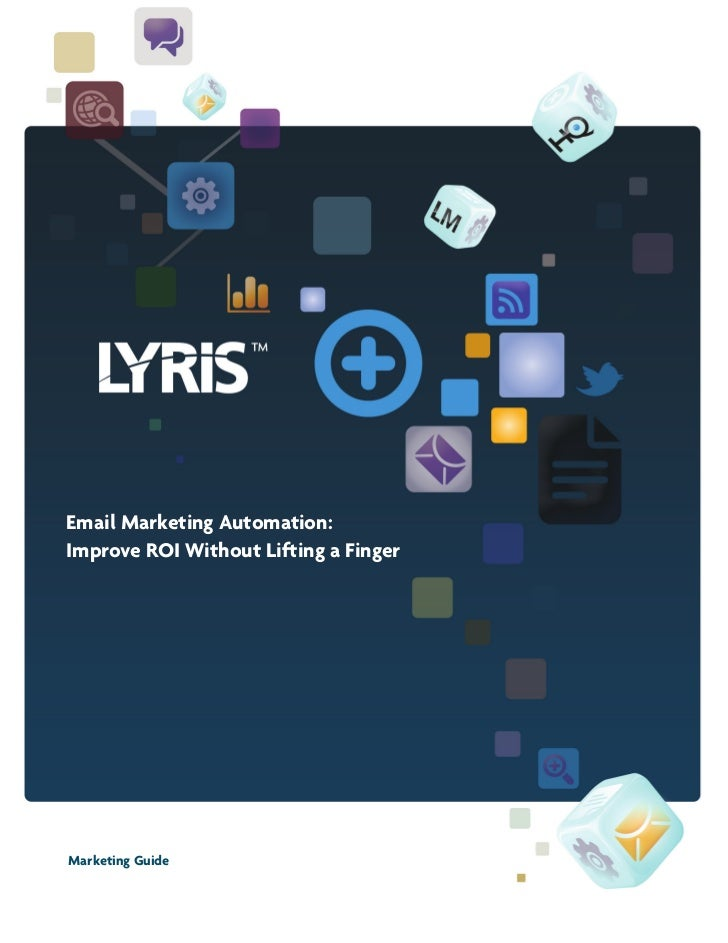 Lyris email-automation-guide-julio2011