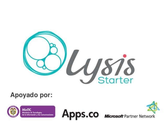 Lysis Starter > Apps.co Demo Day in Bogota, GOAP LatAm 2013