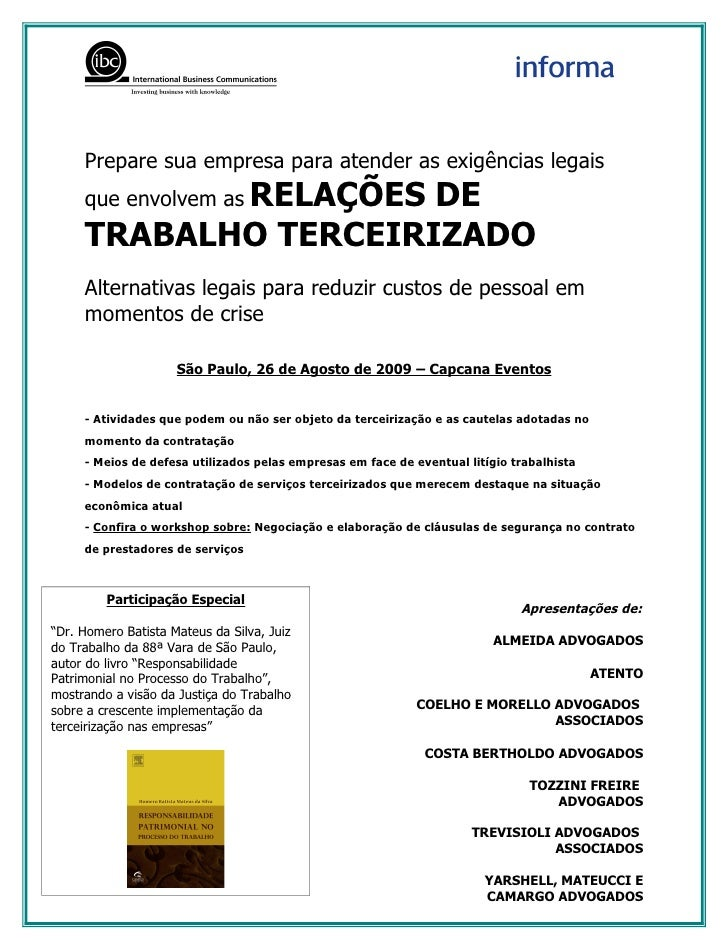 Prepare sua empresa para atender as exigências legais      que envolvem as RELAÇÕES                       DE      TRABALHO...