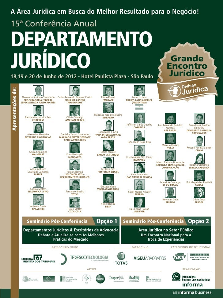 Departamento juridico