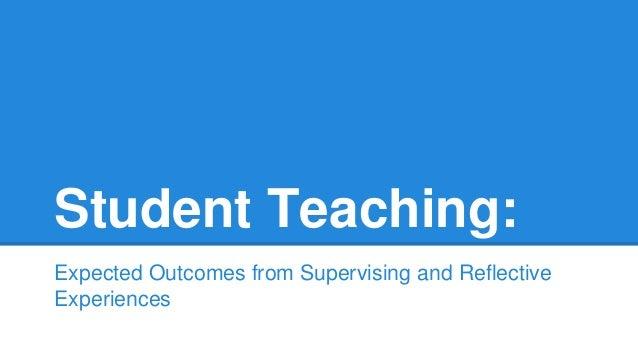 Delserro student teaching practices