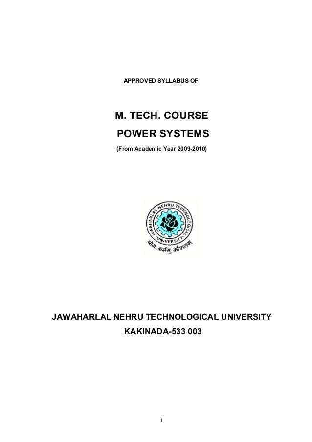M.tech ps