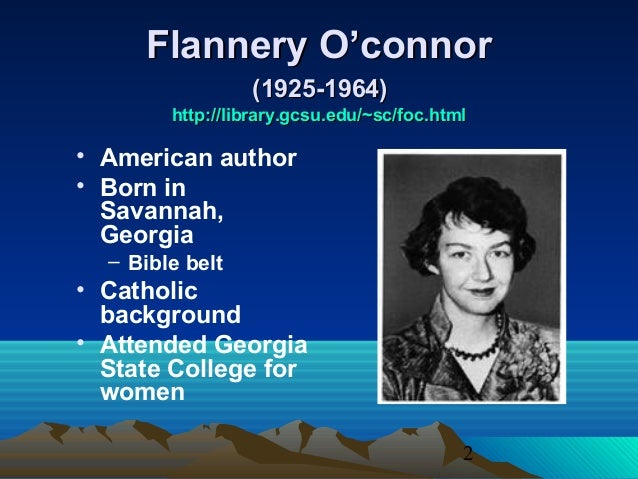 flannery o conners writings