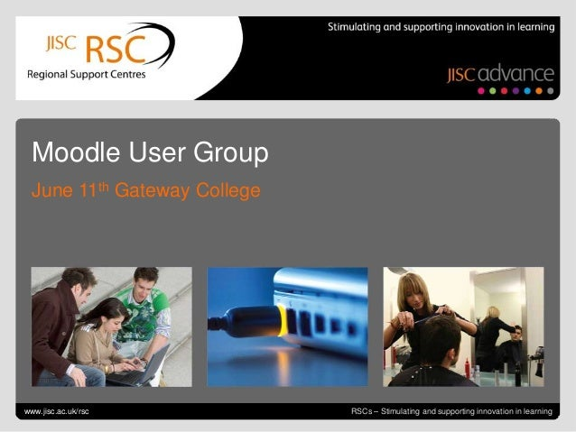 RSC EM Moodle user group 11 06-13