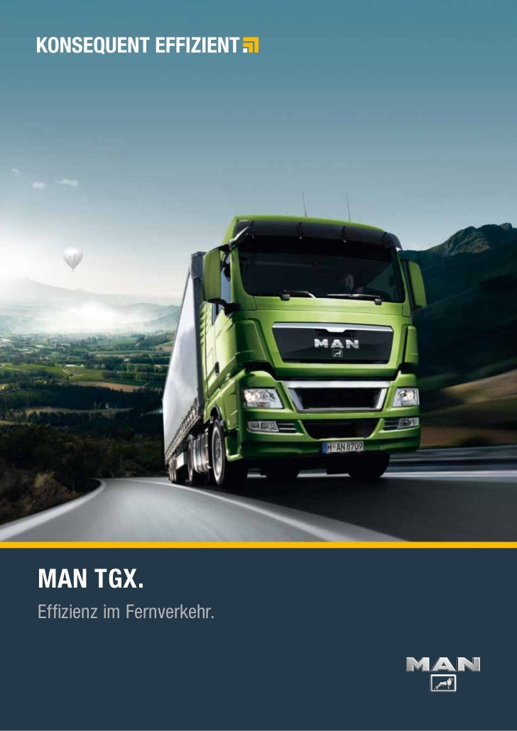 MAN TGX.Effizienz im Fernverkehr.