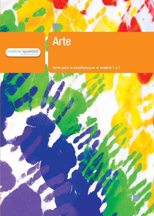 Serie para la enseñanza en el modelo 1 a 1Artematerial de distribución gratuita