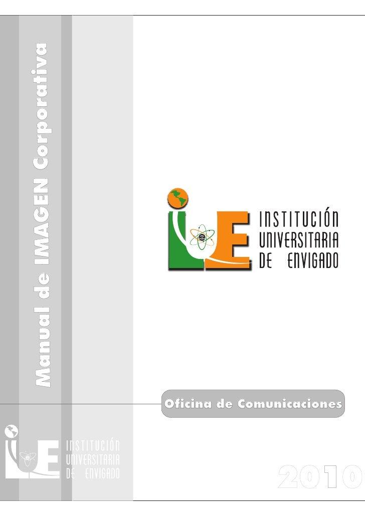 Manual de Imagen Institucional IUE